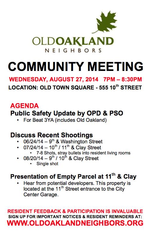 Aug 27 2014 community mtg flyer